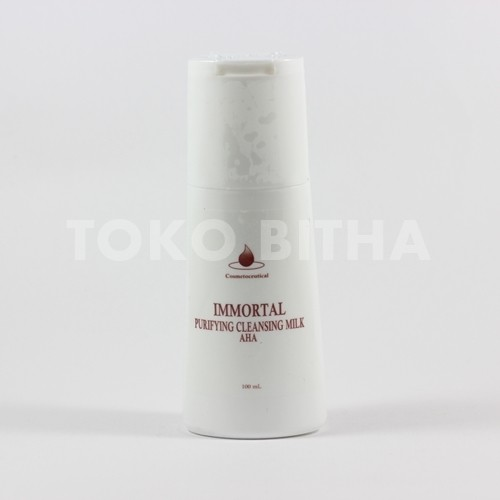 distributor skincare cleansing milk aha immortal