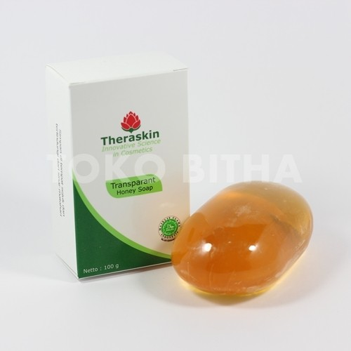 THERASKIN TRANSPARANT HONEY SOAP SABUN PELEMBAB TUBUH