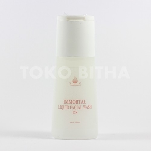 SABUN WAJAH KULIT KERING IMMORTAL BEAUTY FACIAL WASH DRY SKIN (DS)