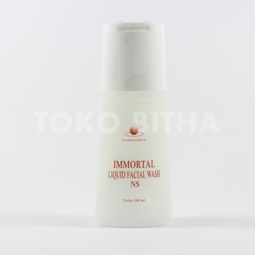 SABUN WAJAH KULIT NORMAL IMMORTAL LIQUID FACIAL WASH NORMAL SKIN