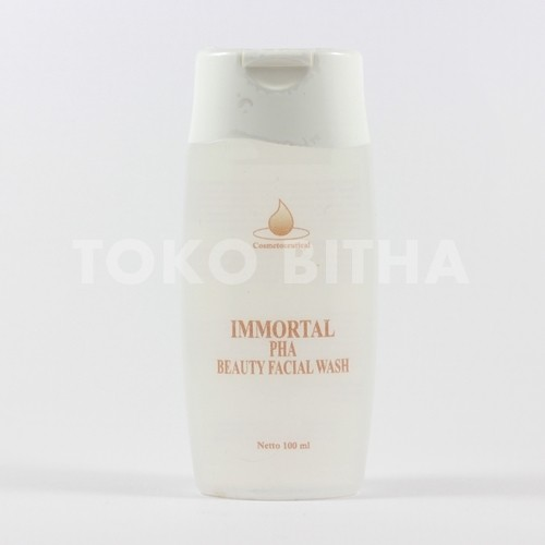 distributor skincare pha facial wash immortal