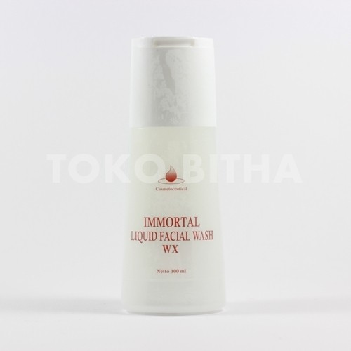 IMMORTAL LIQUID FACIAL WASH WHITENING SERIES (WX)