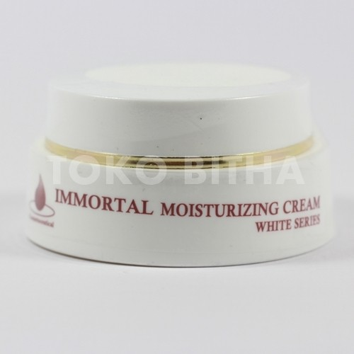 CREAM PELEMBAB WAJAH IMMORTAL MOISTURIZER CREAM WHITENING SERIES