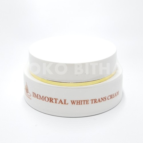 CREAM ANTI FLEK WHITE TRANS CREAM IMMORTAL ORIGINAL ANTI FLEK MELASMA